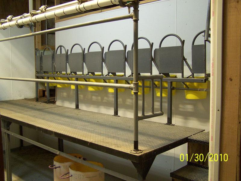 Little Mountain Steel Fabrication Goat Pens